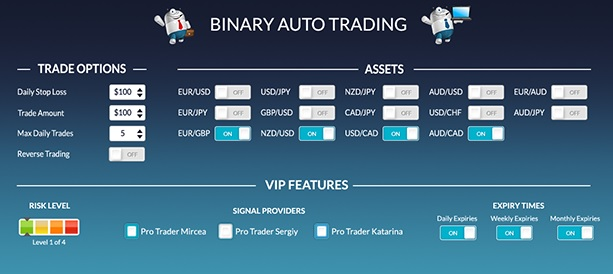 Tbows binary options auto trader kampong betting pontianak pos