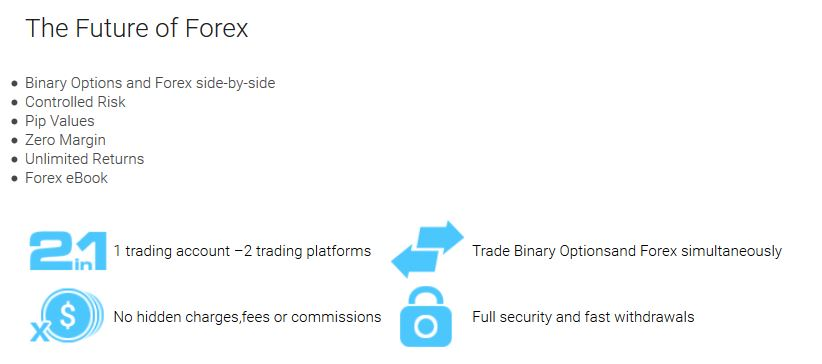 Forex trading with Exbino