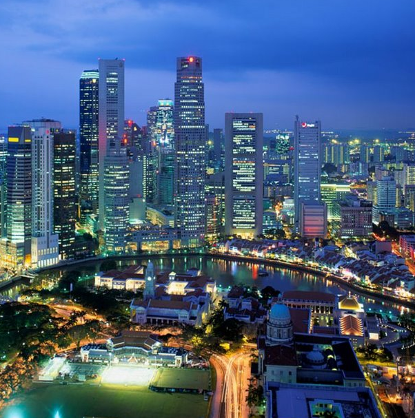 Singapore city view is spectacular and so are investment opportunities