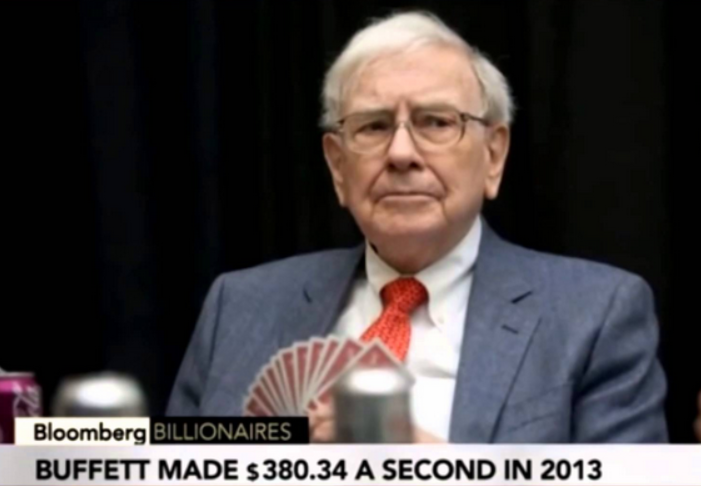 Warren Buffet Him self, the multi millionaire