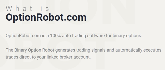 what is option robot