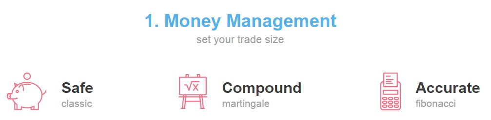 automated binary money management
